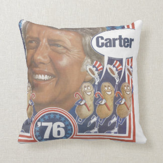 Jimmy Carter '76 Campaign Pillow