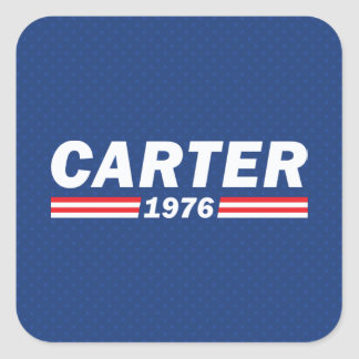 Jimmy Carter, Carter 1976 Square Sticker