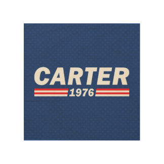 Jimmy Carter, Carter 1976 Wood Wall Art