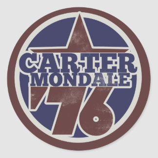 Jimmy Carter Classic Round Sticker
