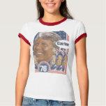 Jimmy Carter de 'camisa 76 campañas Playeras