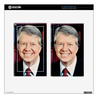 Jimmy Carter Decal For Kindle Fire