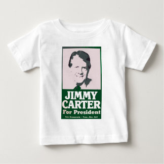 Jimmy Carter Distressed Cut Out Look Baby T-Shirt