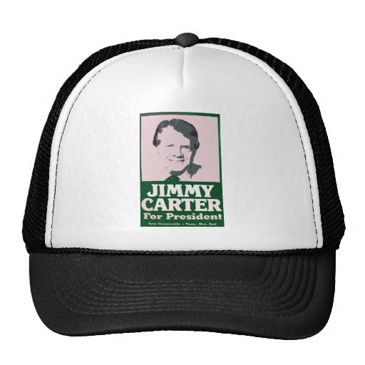 Jimmy Carter Distressed Cut Out Look Hats