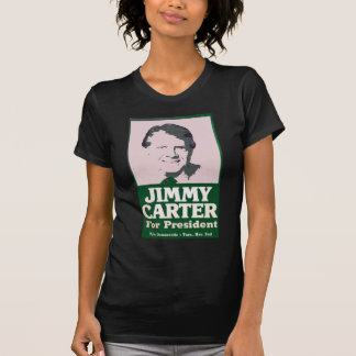 Jimmy Carter Distressed Cut Out Look T-Shirt