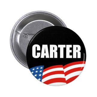 JIMMY CARTER Election Gear Button