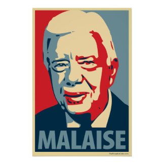 Jimmy Carter - Malaise: OHP Poster