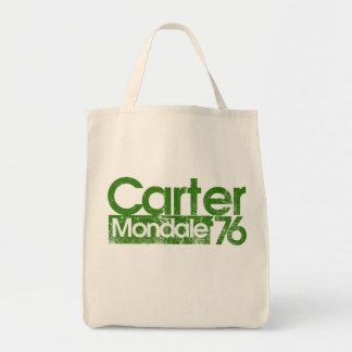 Jimmy Carter Mondale 76 1970s politics Tote Bag