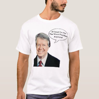 Jimmy Carter no el presidente peor Anymore Playera