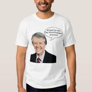 Jimmy Carter no el presidente peor Anymore Playeras