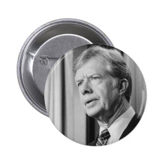 Jimmy Carter Pin Redondo 5 Cm