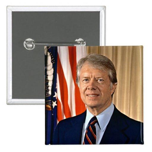 Jimmy Carter Pinback Button
