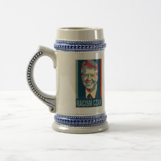 Jimmy Carter Racism Czar Beer Stein 18 Oz Beer Stein