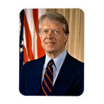 Jimmy Carter Rectangle Magnets