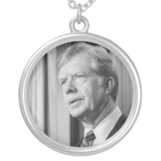 Jimmy Carter Round Pendant Necklace