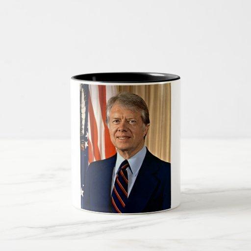 Jimmy Carter Two-Tone Coffee Mug
