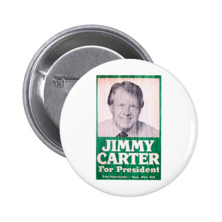 Jimmy Carter Vintage 2 Inch Round Button