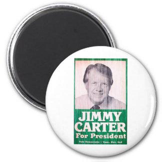 Jimmy Carter Vintage 2 Inch Round Magnet