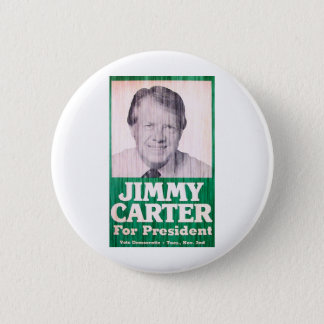 Jimmy Carter Vintage Pinback Button