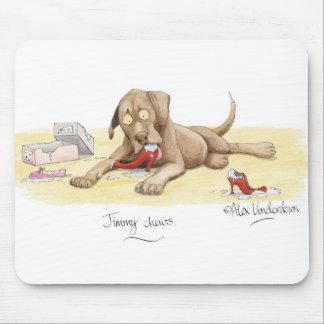 'Jimmy chews' Mousepad