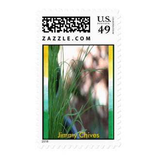 Jimmy Chives Postage Stamp