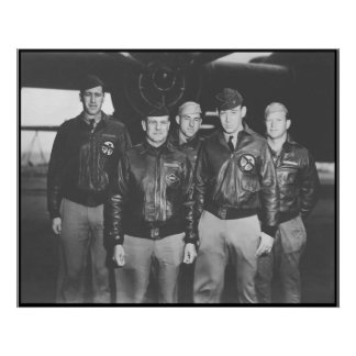 Jimmy Doolittle and His Crew -- Border Poster