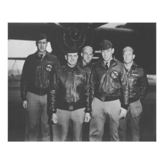 Jimmy Doolittle and His Crew Print