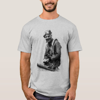 Jimmy Doolittle and quote - grey T-Shirt