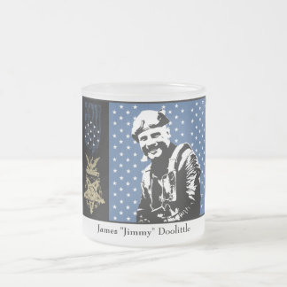 Jimmy Doolittle and the Medal of Honor 10 Oz Frosted Glass Coffee Mug