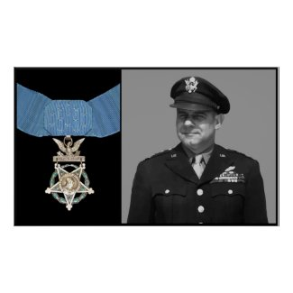 Jimmy Doolittle and The Medal of Honor print