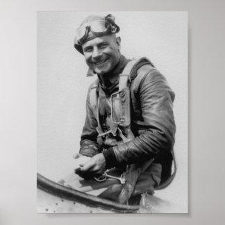 Jimmy Doolittle - Vintage Aviation Photo Poster