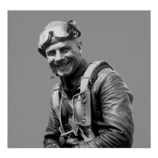 Jimmy Doolittle -- World War Two Hero Poster