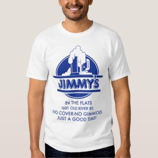 Jimmy en los planos playeras