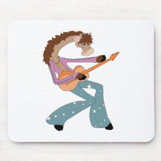 Jimmy Giraffe's Guitar Mouse Pad