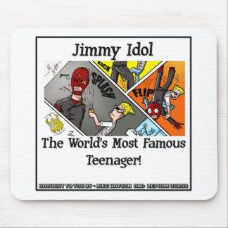 Jimmy Idol Mousepad