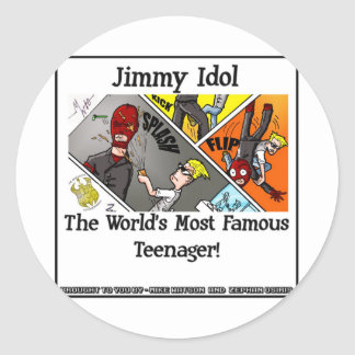 Jimmy Idol Sticker