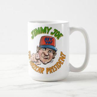 Jimmy Joe For NAZCAR President Mug! Classic White Coffee Mug