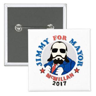 Jimmy McMillan 2017 Pinback Button