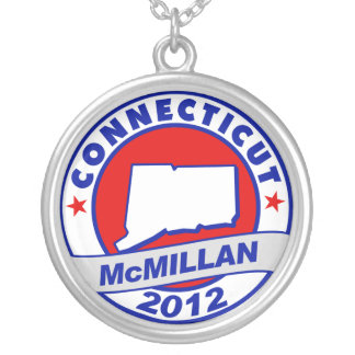 Jimmy McMillan Connecticut Round Pendant Necklace
