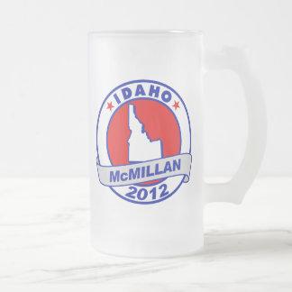Jimmy McMillan Idaho 16 Oz Frosted Glass Beer Mug