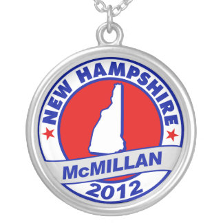 Jimmy McMillan New Hampshire Round Pendant Necklace