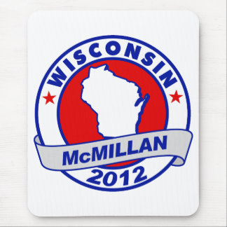 Jimmy McMillan Wisconsin Mouse Pad