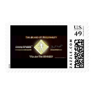 Jimmy NPubliK Brand of Personality Postage Stamp