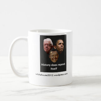Jimmy Obama / Barack Carter Classic White Coffee Mug