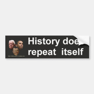 Jimmy Obama, Barack Carter...What's the difference Bumper Sticker
