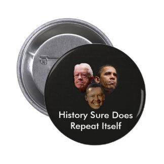 Jimmy Obama Pinback Button
