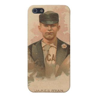 Jimmy Ryan Baseball Card iPhone SE/5/5s Case