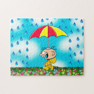 """Jimmy - """"Walking in the Rain"""" Puzzle"""