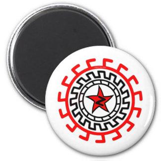 Jimmy Zezee 420z 2 Inch Round Magnet
