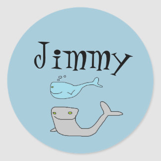 Jimmy's Sea Life Stickers